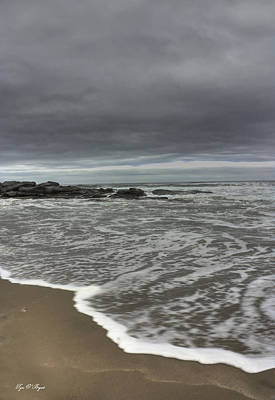 Photograph - Cloudy On The Beach by Tyra OBryant