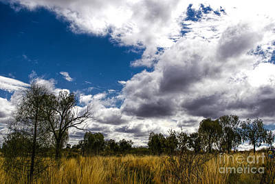 Photograph - Cloudy Outback by Rick Bragan