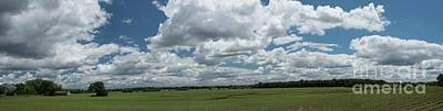 Photograph - Cloudy Patch Of Sky by David Bearden