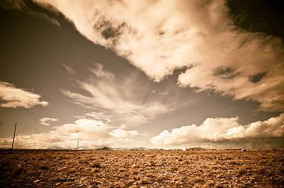 Photograph - Cloudy Plain by Scott Sawyer