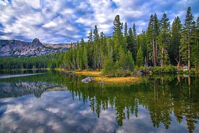 Photograph - Cloudy Reflections On Lake Mamie by Lynn Bauer