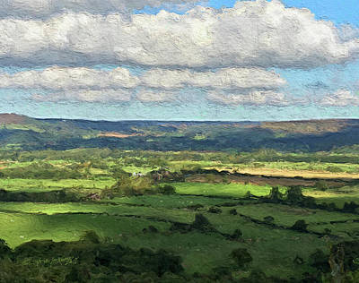 Digital Art - Cloudy Sheep by Steve Lockwood