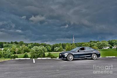 Editoria Photograph - Cloudy Skies by Jeramey Lende