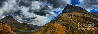 Bullheaded Photograph - Cloudy Skies Over Bullhead Lake Valley by Adam Jewell