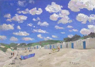 Painting - Clouds Above The Sunny Beach by Ben Rikken