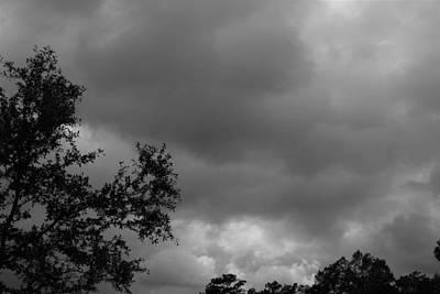 Photograph - Cloudy Sky by Carolyn Ricks