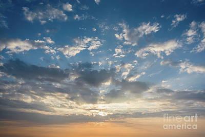 Photograph - Cloudy Sky by Clayton Bastiani