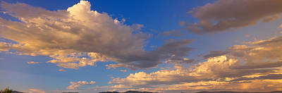 Sunrises And Sunsets Photograph - Cloudy Sky In Oregon by Panoramic Images
