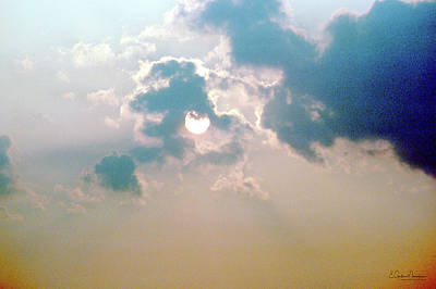 Photograph - Cloudy Sun by Gordon Mooneyhan