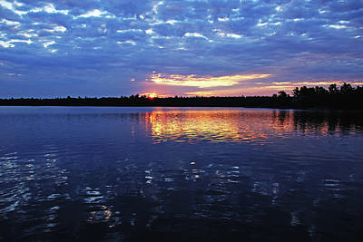 Photograph - Cloudy Sunrise by Debbie Oppermann