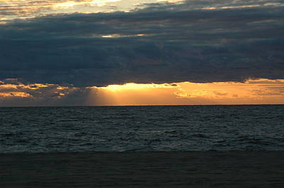 Cloudy Sunrise Art Print by See Me Beautiful Photography