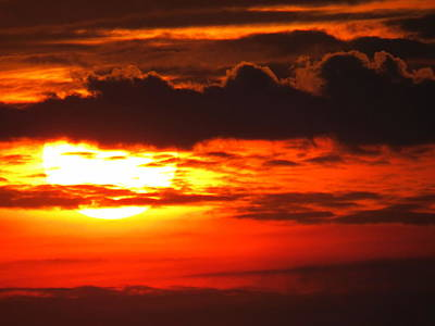 Photograph - Cloudy Sunrise by Suzanne DeGeorge