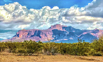 Photograph - Cloudy Superstition by Susan Crossman Buscho
