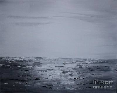 Painting - Cloudy Waves 5 by Preethi Mathialagan