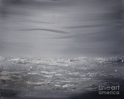 Painting - Cloudy Waves 8 by Preethi Mathialagan