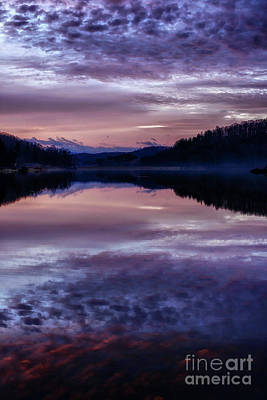 Photograph - Cloudy Winter Dawn by Thomas R Fletcher
