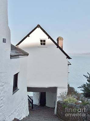 Photograph - Clovelly Architecture by Richard Brookes