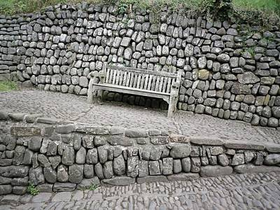 Photograph - Clovelly Bench by Richard Brookes