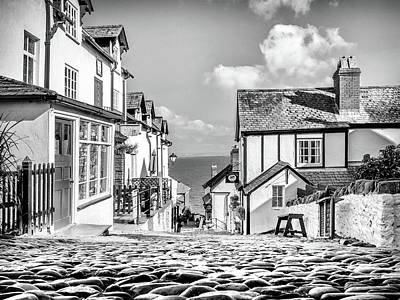 Photograph - Clovelly Cobbles by Nick Bywater
