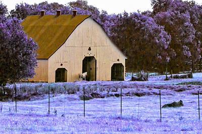 Barn Photograph - Clover Club by Erich Grant