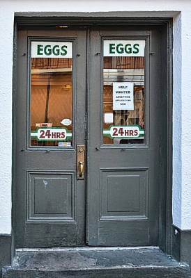 Photograph - Clover Grill - Eggs 24/7 - New Orleans - 1a by Greg Jackson