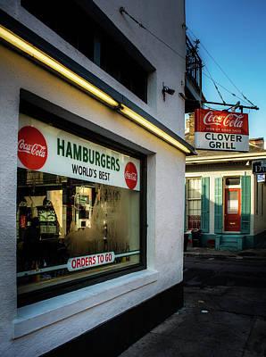 Photograph - Clover Grill by Greg Mimbs