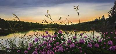 Painting - Clover Sunrise  by Sharon Duguay