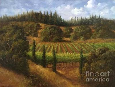 Cloverdale Vines Original by Gail Salituri