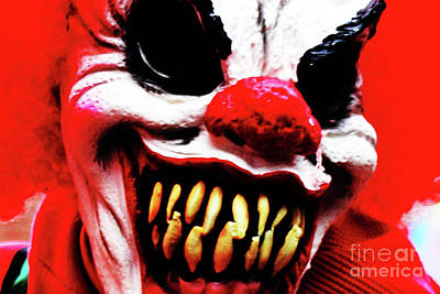 Photograph - Clown 1 by Alan Harman