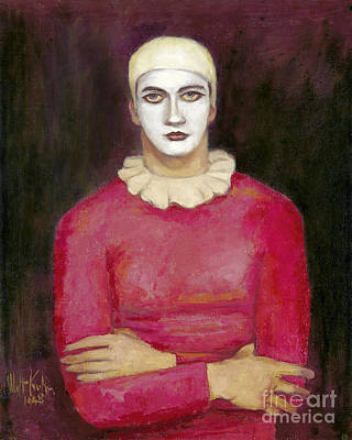 Painting - Clown 1948 by Granger