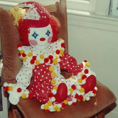 Photograph - Clown Doll by Denise Fulmer