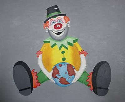 Clown Eleven Art Print by Frank Parrish