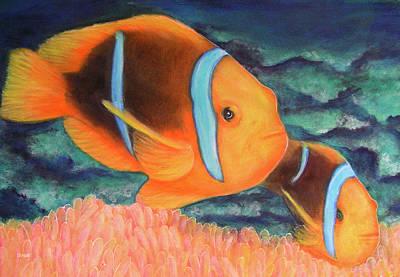 Clown Fish #310 Art Print by Donald k Hall