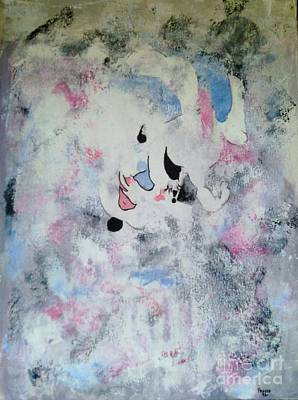 Painting - Clown In The Clouds by Roberto Prusso