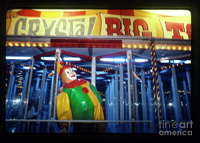 Photograph - Clown In The Crystal Big Top by Greg Kopriva