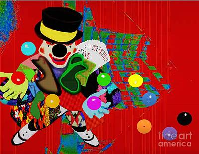 Painting - Clown Juggler2 by Belinda Threeths