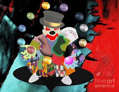 Painting - Clown Juggler3 by Belinda Threeths