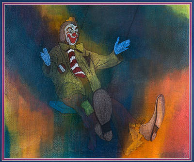 Clowning Around Original by Leonette Leonette