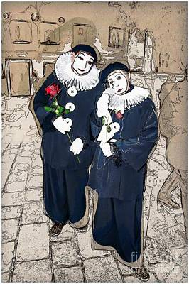 Photograph - Clowns by Jack Torcello