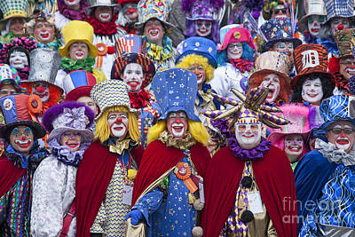 Photograph - Clowns by Jim West