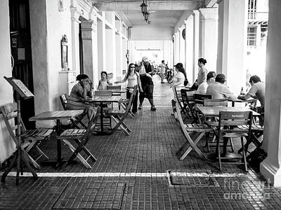 Photograph - Club Colombia In Cartagena by John Rizzuto