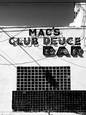 Photograph - Club Deuce by Dominic Piperata