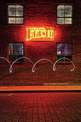Club Frisco Motion - Rogers Arkansas Usa Art Print by Gregory Ballos