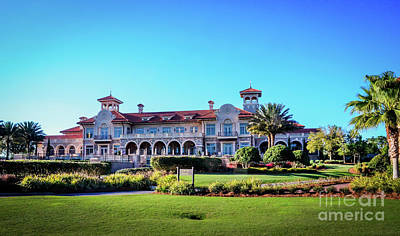 Photograph - Clubhouse Tpc Sawgrass by Randy J Heath