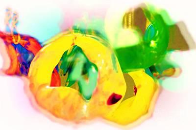 Glassware Digital Art - Cluster by Deborah MacQuarrie-Selib