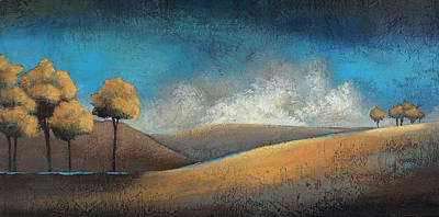 Clusters Art Print by Jane Hunt
