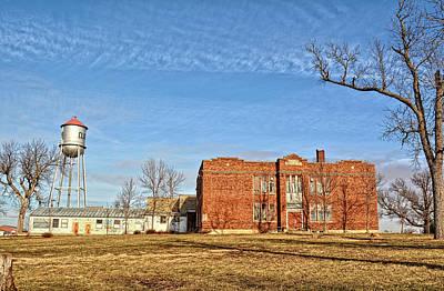 Photograph - Clutier School by Bonfire Photography