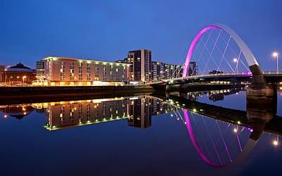 Clyde Arc Glasgow Art Print