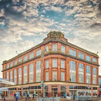 Photograph - Clydebank Co Op Department Store by Antony McAulay