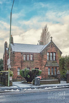 Photograph - Clydebank Old Chapel House by Antony McAulay